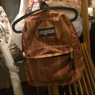 Jansport木紋後背包