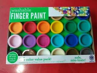 (BNIB) Washable finger paint