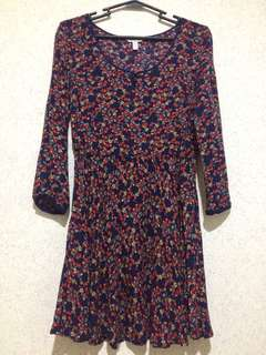 Springfield Floral longsleeve dress