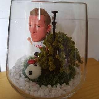 Soccer Star in Glass