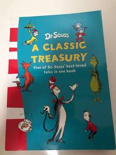 Dr. Seuss - A Classic of Treasury (5 Best Tales)