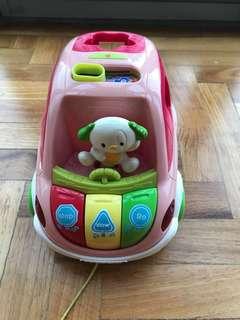 Vtech musical car