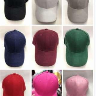 Plain baseball cap