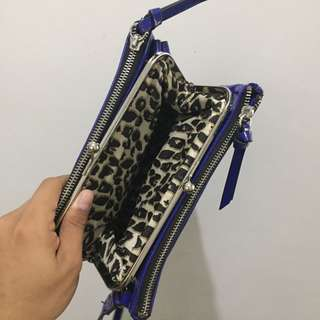 Pre loved Nine West Sling Bag (blue)