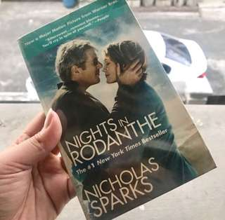 Nights in Rodanthe by Nicholas Sparks Novel
