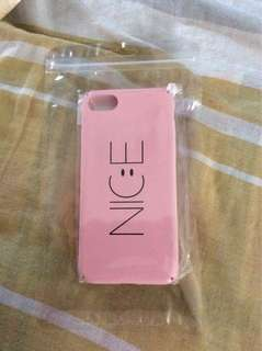 Pink Nice Iphone 7 phone casing