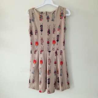 Bunny brown dress