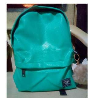 (SPAO) LEATHER BACKPACK