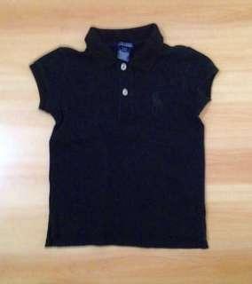 Authentic Ralph Lauren Black Polo Shirt