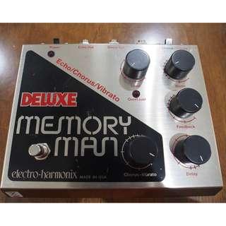 Vintage Electro-Harmonix Deluxe Memory Man (Bigbox) guitar EFX pedal - Made in USA