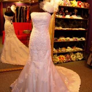 減價拖尾婚纱