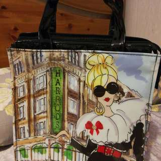 Harrods Shopping Bag (Glamorous Girl Small)