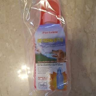 Pet feeding bottle