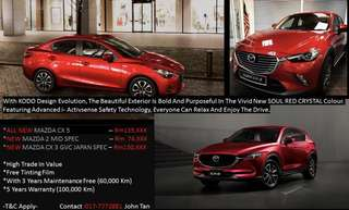 New Mazdacx3,Cx5
