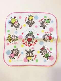 Sanrio vintage Rururugakuen Rururu Gakuen 小毛巾19cm 1994