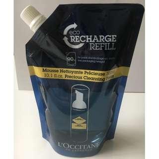 L'Occitane Cleansing Foam (Eco Refill)