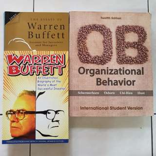 Investor-Warren Buffett & Organisation Books