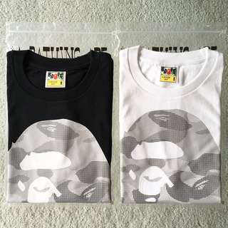 BAPE DOT CAMO BIG APE HEAD TEE