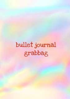bullet journal grabbag