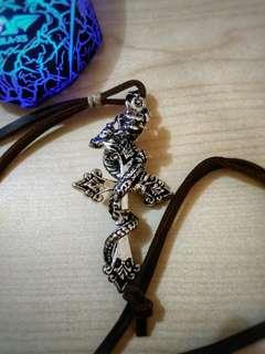 Metal Dragon on Cross