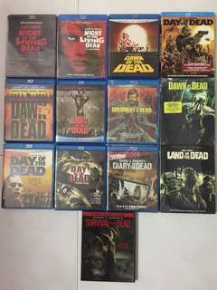 George A. Romero's Of The Dead Collection Blurays
