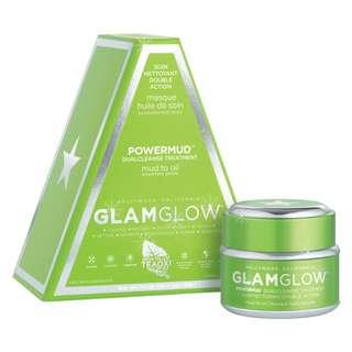 🆕 Glam Glow ♦️♦️ POWERMUD Dual Cleanse Treatment Mask 50ml