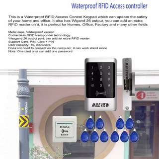 RFID Electric Door With Installations
