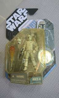 Star wars McQuarrie concept Boba Fett with coin