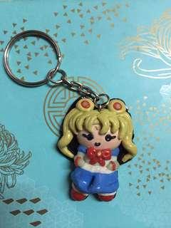 Polymer Sailor Moon Keychain
