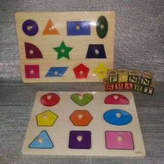 Shapes Peg Puzzles