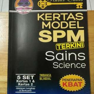 SCIENCE (KERTAS MODEL SPM)