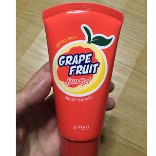 A'pieu Grape Fruit Sun Gel 65ml SPF42