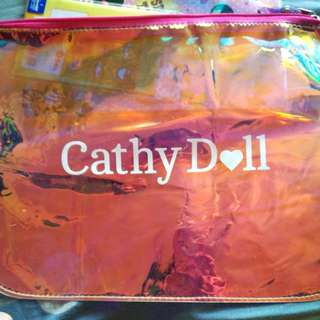 Cathy Doll Holographic Transparent Pouch
