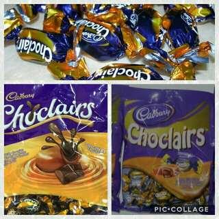 Yummy Cadbury Choclairs 25pcs/ pack