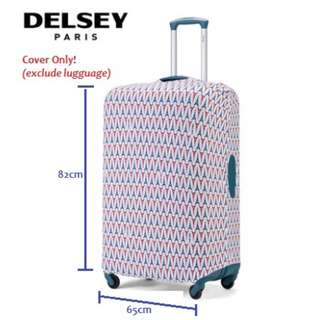 """🆕✈️Delsey Stretchable Luggage XL Cover (for 28-30"""" Lugguage)"""