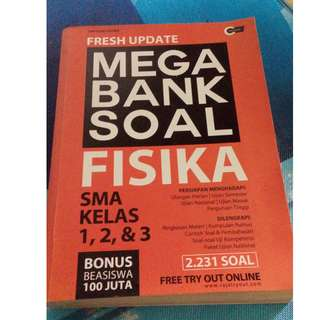 Fresh Update Mega Bank Soal Fisika kelas 1 2 3 SMA Tim Guru Eduka Cmedia