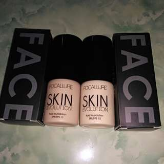 Focallure Foundation Skin Evolution