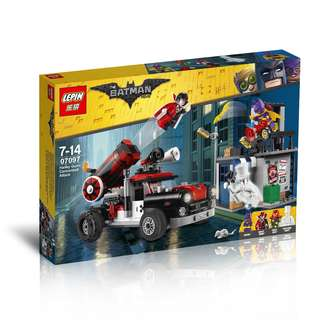 LEPIN™ 07097 The Batman Movie Harley Quinn Cannonball
