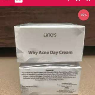 WHY ACNE DAY CREAM TREATMENT / ERTOS ANTI ACNE