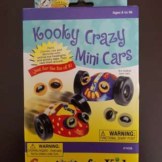 Faber Castell Kooky Crazy Mini Cars