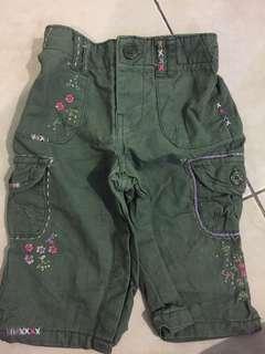 BABY GAP 6-12mth pants