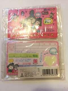 Sanrio vintage Rururugakuen Rururu Gakuen 咭仔貼紙 1993