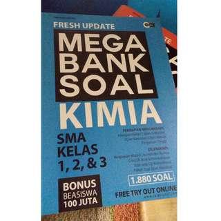 Fresh Update Mega Bank Soal Kimia kelas 1 2 3 SMA Tim Guru Eduka Cmedia