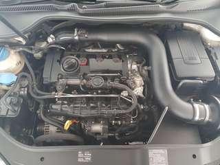 Volkswagen GTI MK5 Intake