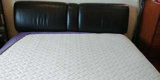 King Bed for Sale - Solid Simmons Bed Frame