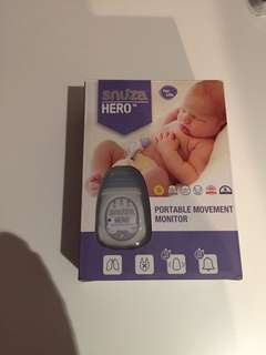 Snuza Hero - Baby Safety, Monitors that baby is breathing - Highly recommended for premis