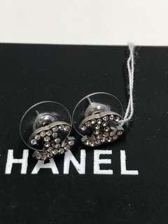 Chanel 耳環 僕實 凸花中號全新購自巴黎
