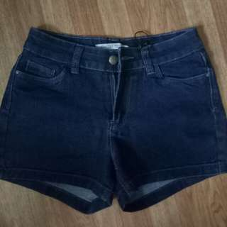 short denim blue