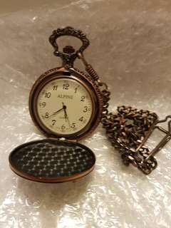 Pocket Chain Watch - Quartz