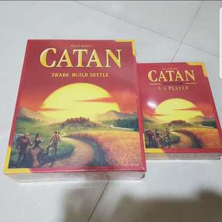 Catan + 5/6 Players Brand New Board Game